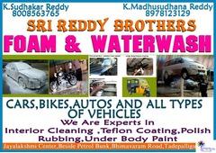 Sri Reddy Brothers  Foam & Water Wash