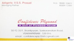 Confidence Plywood