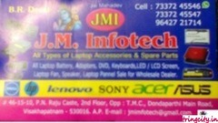 J.M.Infotech (All Type Off laptop Spare Parts )
