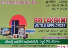 Sri Lakshmi Auto & Appliances