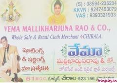 Vema Mallikharjuna Rao & Co.,