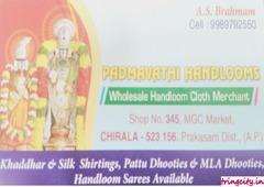 Padmavathi Handlooms