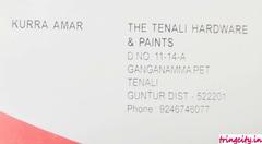 The Tenali Hardware