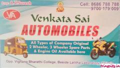 Venkata Sai Auto Mobiles