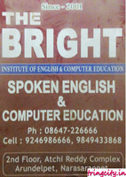 The Bright Institute of English & Computer Education