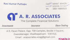 A.R.Associates ( The Complete Financial Solutions )