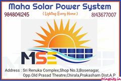 Maha Solar Power System