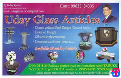 Uday Glass Articles