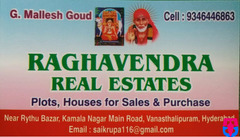 Raghavendra Real Estates