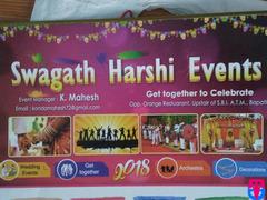 Swagath Harshi Events