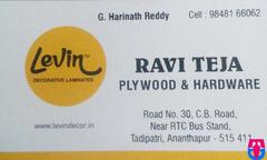 Ravi Teja Plywood & Hardware