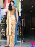 ladies half saree
