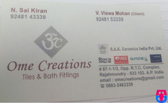 Ome Creations ( Tiles & Bath Fitting )