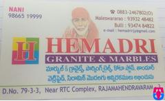 Hemadri Granite & Marbles