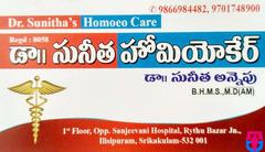 Dr Sunitha's Homoeo Care