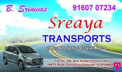 Sreaya Transports (24/7)