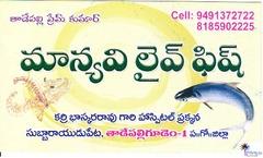 Manyavi Live Fish