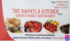 The Bapatla Kitchen A/C Garden Family Restaurant