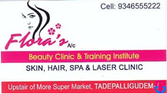 Flora's A/C Beauty Parlour Only For Ladies