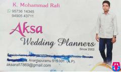 Aska Wedding Planners