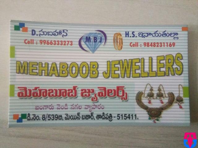 MEHABOOB JEWELLERS