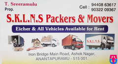 S.K.L.N.S.Packers & Movers