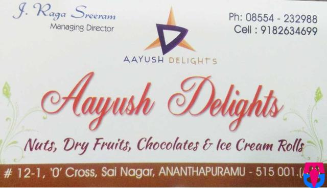 Aayush Delights