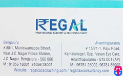 REGAL ( Professional Academy & Tax Consultancy )