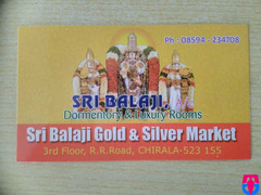 Sri Balaji Dormentory & Luxury Rooms