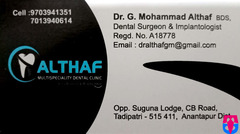 Althaf ( Multi Speciality Dental Clinic )
