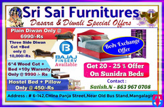 Furniture Offers on Dasara