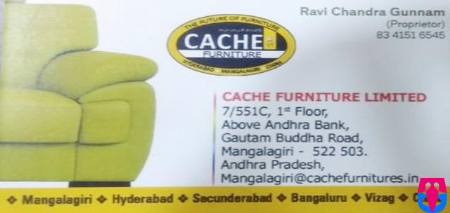 Best Furniture Shop in Mangalagiri Cache Furniture