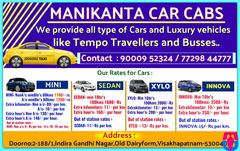Manikanta Car Cabs