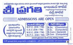Sri Pragathi Junior & Degree College/Modern