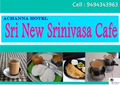 Sri New Srinivasa café ( Archana Hotel)
