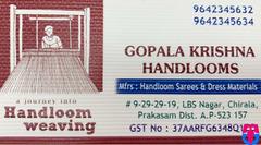 Gopala Krishna Handlooms