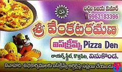 Pizza & Ice Cream Corner in Vinukonda
