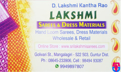 Lakshmi Sarees & Dress Materials