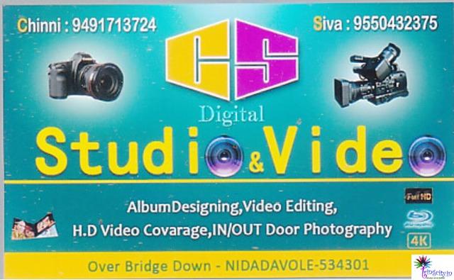 Nidadavolu | Andhra Pradesh | India | Photo Studio | tringcity in