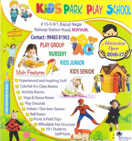 Kovvur Andhra Pradesh India Kids Play Schools