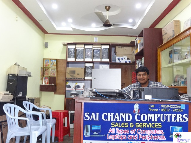 Eluru Andhra Pradesh India Computer Shops Tringcity In Saichand Computers Laptops Networking Sales Printer Services